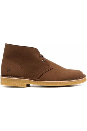 Clarks Lace-up vegan leather desert boots
