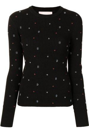 BAPY Bead-embellished jumper