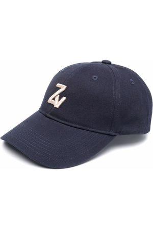 Zadig & Voltaire Klelia intial-embroidered cap
