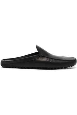 Tod's Sabot leather slippers