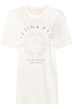 REJINA PYO Graphic-print cotton T-shirt