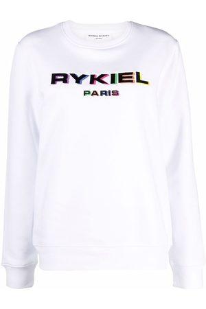 Sonia by Sonia Rykiel Logo-print crew neck sweatshirt