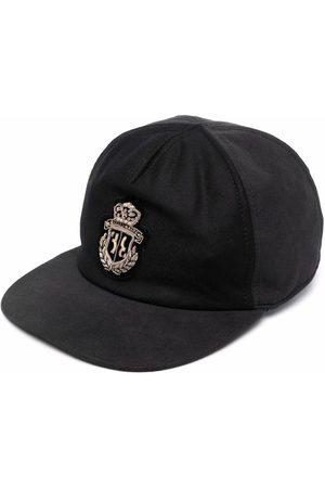 BILLIONAIRE Logo-embroidered wool cap