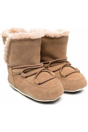 Moon Boot Baby Boots - Crib suede-leather mood boots