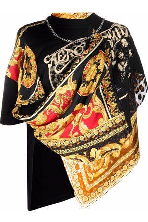 JUNYA WATANABE Scarf-detail cotton T-shirt