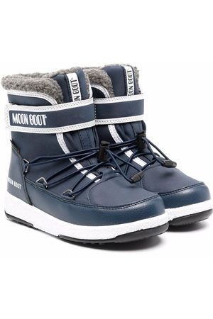 Moon Boot WP touch-strap snow boots