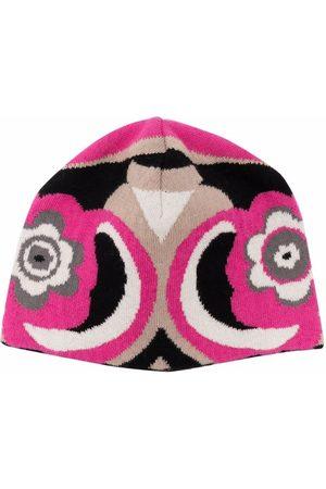 Emilio Pucci Girls Beanies - Abstract-Print beanie