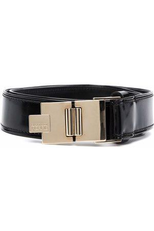 Gianfranco Ferré Women Belts - 1990s folding buckle leather belt