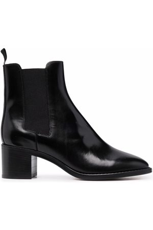 Isabel Marant Polished-finish ankle boots