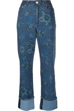 Erdem Floral-print high-waisted trousers