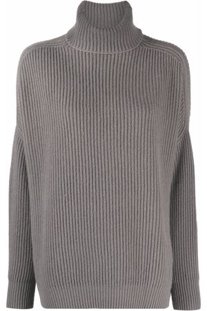 AVANT TOI Women Jumpers - Ribbed-knit rollneck sweater