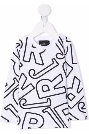 John Richmond Junior Baby Long Sleeve - Logo-print long-sleeve T-shirt