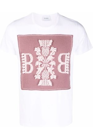 Barrie Embroidered short-sleeved T-shirt