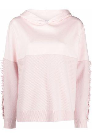 Barrie Fringe-detail pullover hoodie