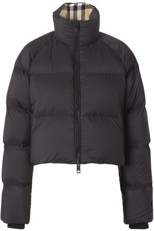 Burberry Cropped padded jacket