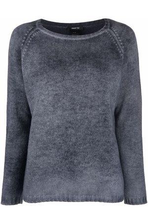 AVANT TOI Melange-effect knitted sweater
