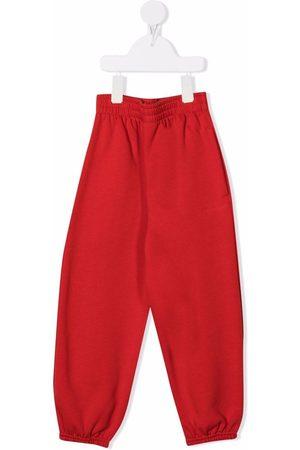 Balenciaga Boys Trousers - High-waisted drop-crotch track pants