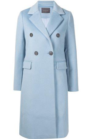 LORENA ANTONIAZZI Women Coats - Double-breasted woolen coat