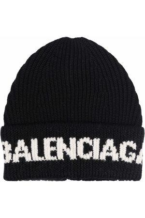 Balenciaga Intarsia-logo beane
