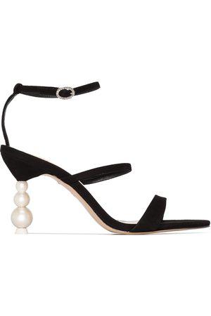 SOPHIA WEBSTER Women Sandals - Rosalind 85mm suede sandals