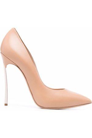 Casadei Women Shoes - Sculpted-heel pointed pumps