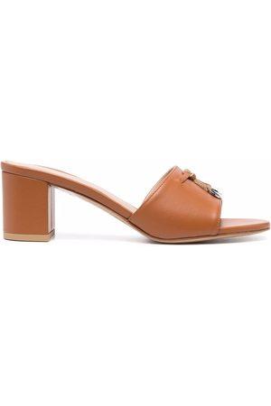 Scarosso Sveva leather sandals