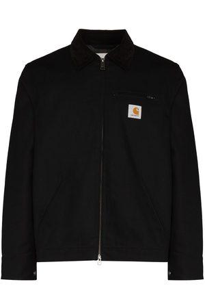 Carhartt Detroit logo-patch zip-up jacket