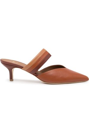 MALONE SOULIERS Pointed leather mules