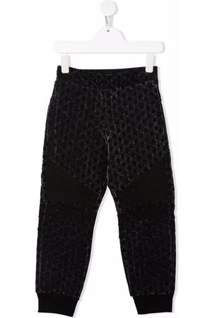 Balmain Girls Trousers - Glitter-effect trackpants