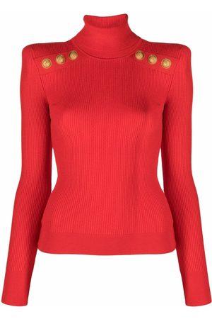 Balmain Long-sleeve roll-neck top