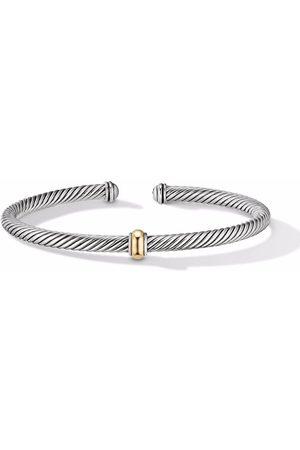 David Yurman Women Bracelets - 18kt yellow gold Cable Classics Centre Station bracelet