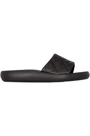 Ancient Greek Sandals Quilted effect flat sandals