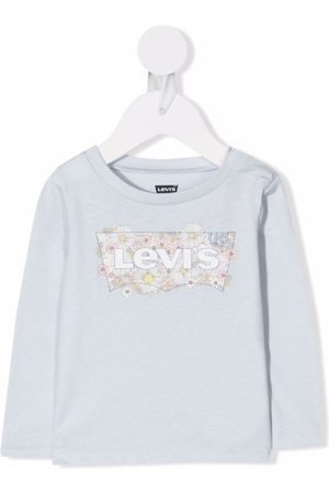 Levi's Logo-print long-sleeved T-shirt