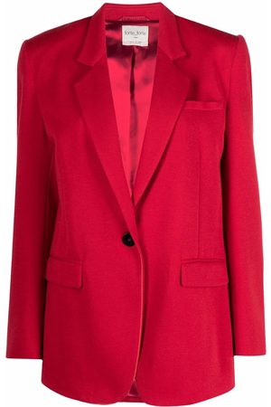 FORTE FORTE Notched lapels single-breasted blazer