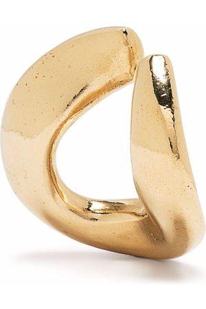BEATRIZ PALACIOS Plated silver Link Medium ear cuff