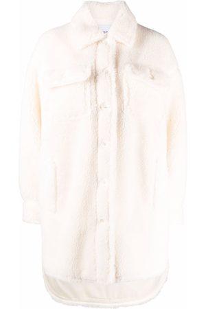 Stand Studio Sabi fleece shirt coat