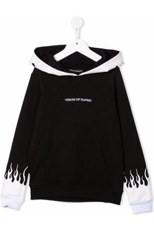 Vision Of Super Flame print hoodie