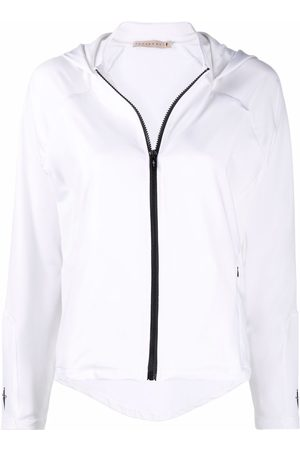 Cesare Paciotti Embroidered-logo zip-up hoodie