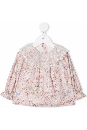 Le Bebé Enfant Floral blouse
