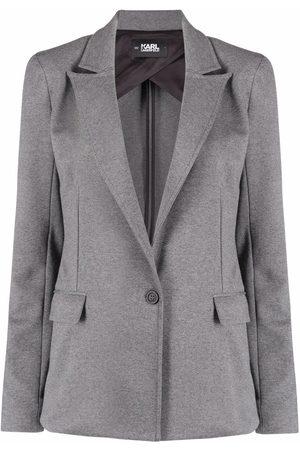 Karl Lagerfeld Women Blazers - Tailored jersey blazer