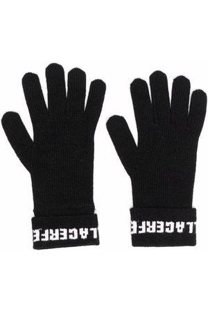 Karl Lagerfeld Women Gloves - Soft knit logo gloves
