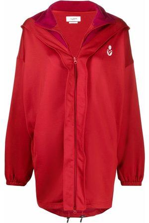 Isabel Marant Isla logo-print hooded jacket