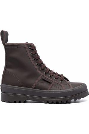 L'Autre Chose Logo-tab ankle boots