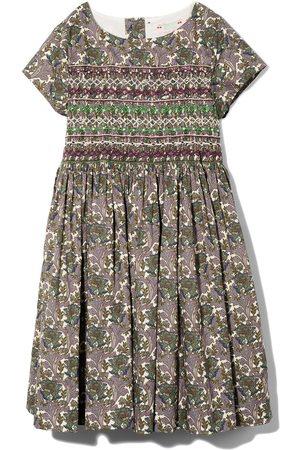 BONPOINT Duchess smock printed dress