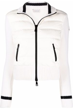Moncler Maglia padded-front cardigan