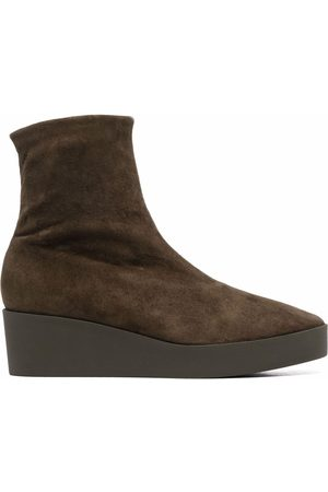 Robert Clergerie Wedge-sole ankle boots