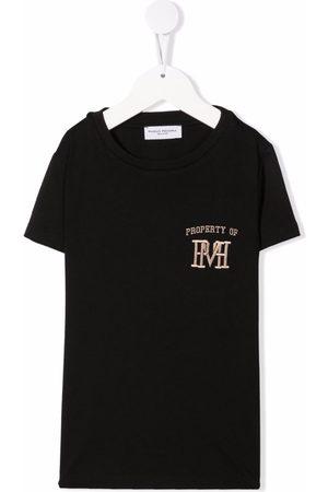 Paolo Pecora Embroidered-logo cotton T-shirt