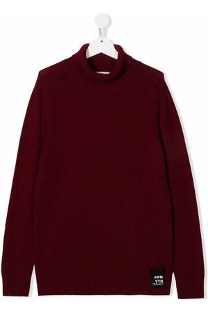 Paolo Pecora TEEN roll-neck merino wool jumper