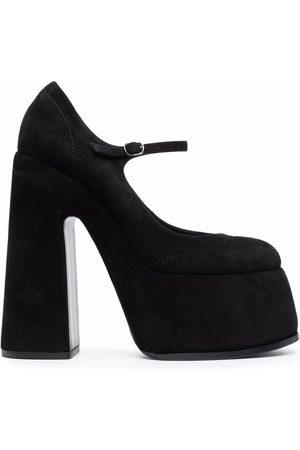 Casadei Buckled high-heel pumps