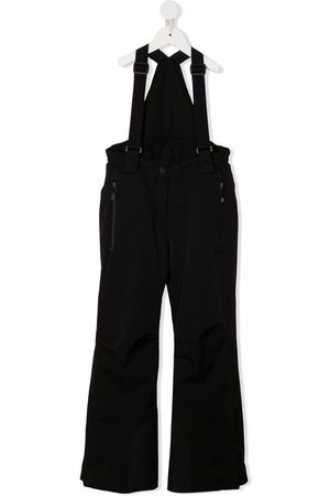 Moncler High-waisted flared dungarees